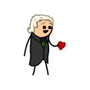 Стикер Cyanide and Happiness 48