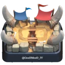 Telegram stickers Clash_Royale_by_JY